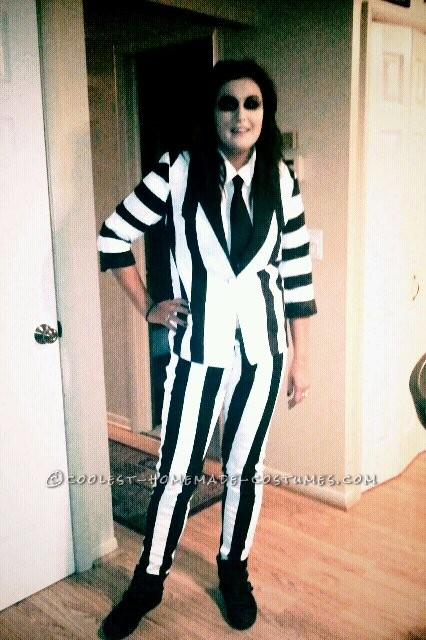 I have been wanting to be beetlejuice for years now but could never find a suit that was similar enough to his! So this year, I decide
