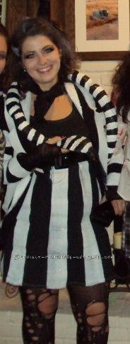 Cool Homemade Beetlejuice Costume with a Twist - 1