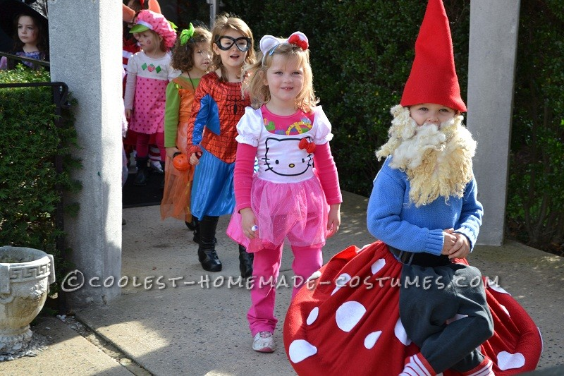 Best Homemade Halloween Costume in Town: Gnome on a Toadstool! - 3