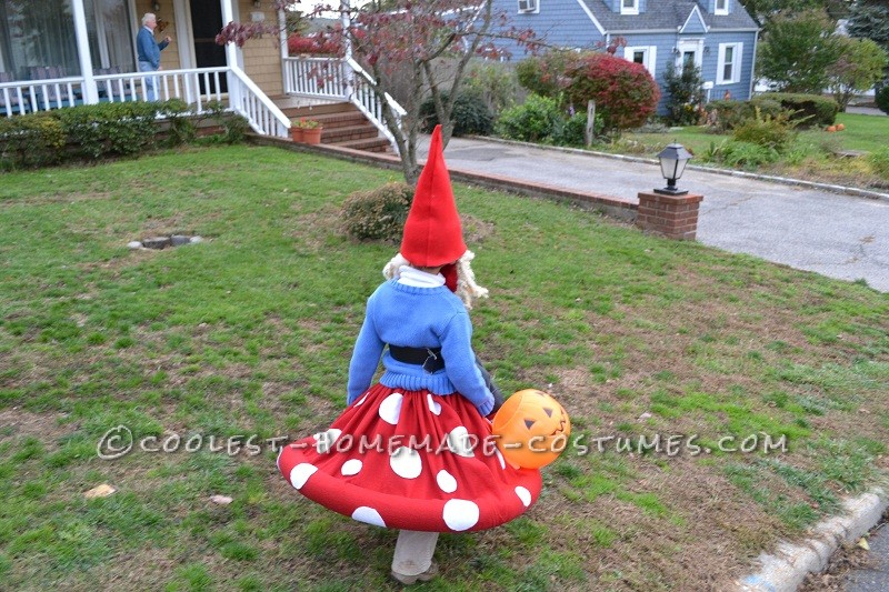 Best Homemade Halloween Costume in Town: Gnome on a Toadstool! - 2