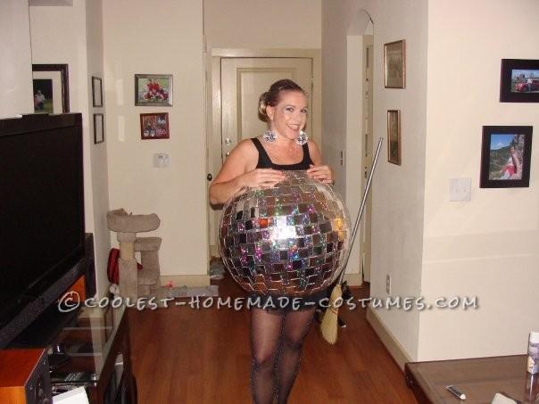 Best Ever Homemade Disco Ball Costume - 2