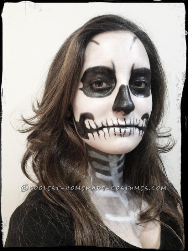Skeleton Make up