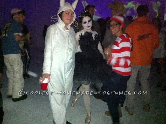 Coolest Homemade Black Swan Costume - 2