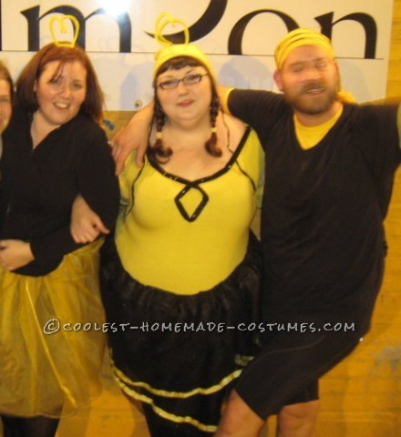 The idea for this costume came to me while watching Blind Melon's