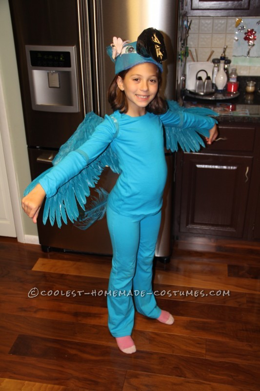 Coolest Blue Macaw (Jewel) Costume from the Movie Rio - 1