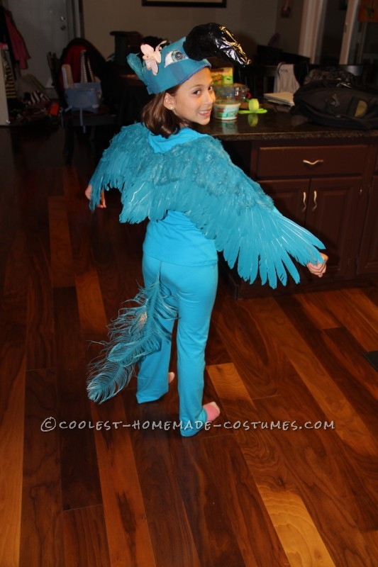 Coolest Blue Macaw (Jewel) Costume from the Movie Rio - 3