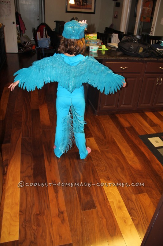 Coolest Blue Macaw (Jewel) Costume from the Movie Rio - 4