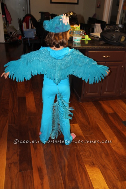 Coolest Blue Macaw (Jewel) Costume from the Movie Rio - 5