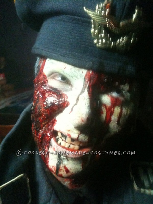BRAINZZZZZZZ!!!!! Zombie Make-up!My boyfriend and I decided to be zombies this year. Sorry there are only two pictures and not full body but