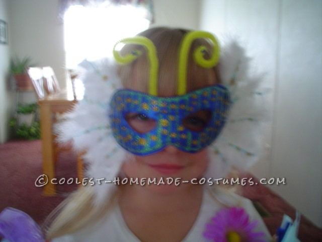 I bought the top and bottom. The big butterfly was already on thereso I created it from there. Everything else was painted on . For detai