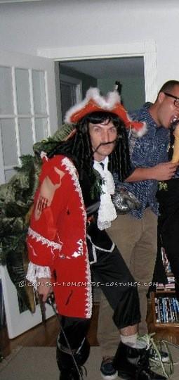 Original Captain Hook Washed Up On Shore Costume - 1