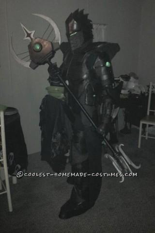 Original Homemade Carbon Knight Costume