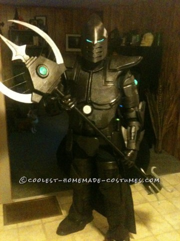 Original Homemade Carbon Knight Costume