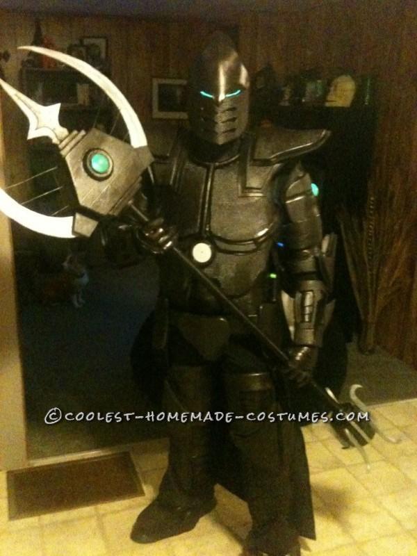 Original Homemade Carbon Knight Costume - 1