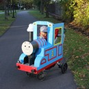 Like many 2.5 year old boys, my son is an avid train and Thomas fan. But as many have noted, the costume selection is lacking. Being a ma