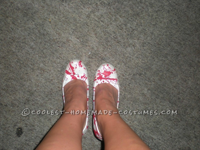 Cose up of shoes