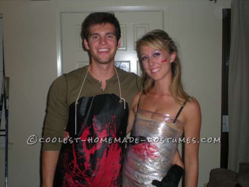 Cheap and Easy to Make Dexter Couple Costume - 2