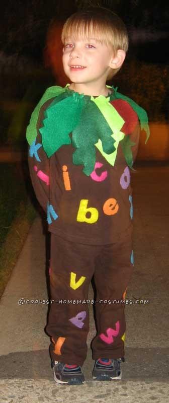 Coolest Child's Halloween Costume Idea: Chicka Chicka Boom Boom Costume - 1