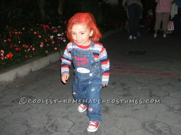 Cute Homemade Chucky Costume