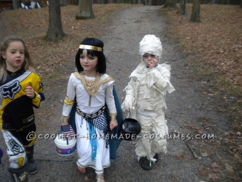 Coming up with a theme for my three kids is always the best part of Halloween, I can never get my oldest to go along with any of my ideas so I am usu
