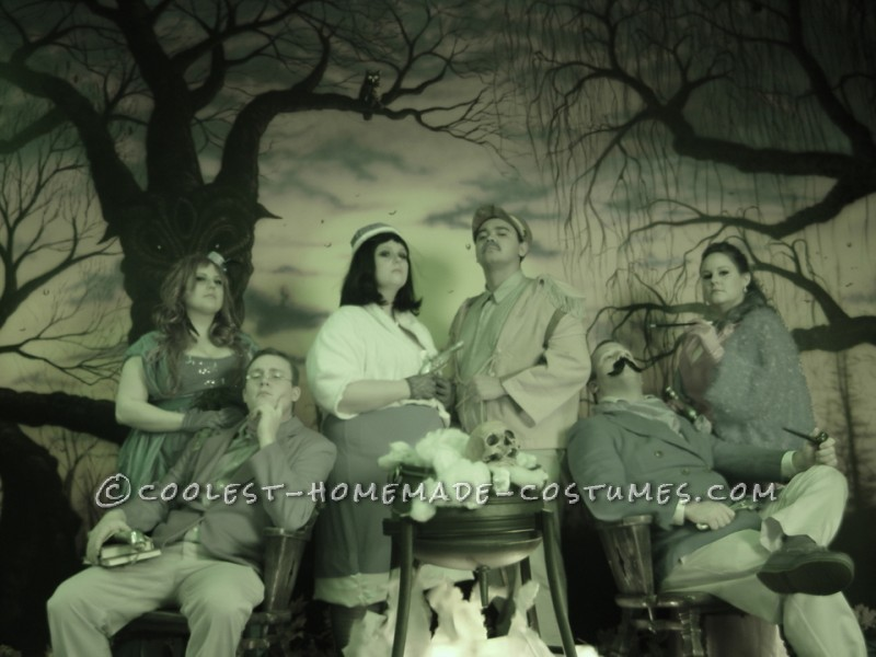 Coolest Clue Characters Group Halloween Costume
