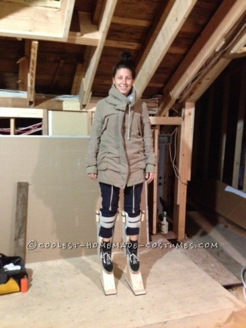 Every year I strive to create a cooler, more complex (time consuming) costume than the year previous. This year I knew I wanted to create stilts! I m
