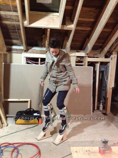 Cool Homemade Minotaur Costume on Stilts - 2
