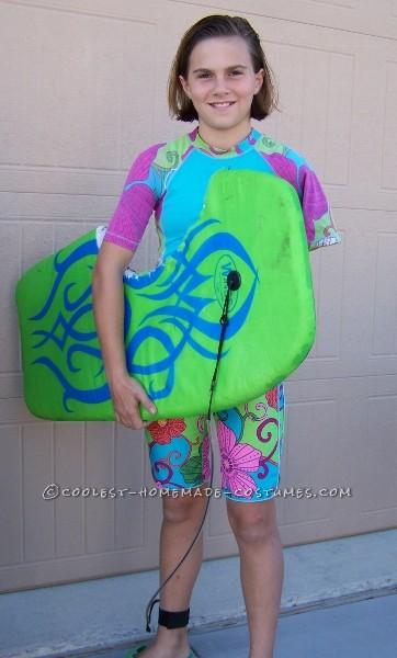 Original Homemade Bethany Hamilton Soul Surfer Teen Costume