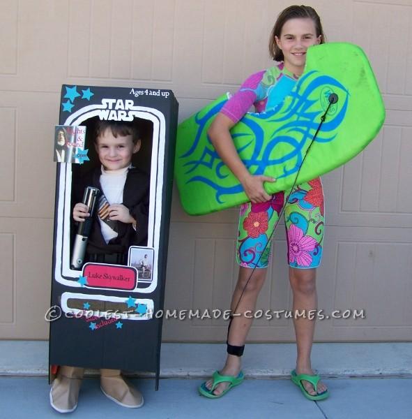 Original Homemade Bethany Hamilton Soul Surfer Teen Costume - 1