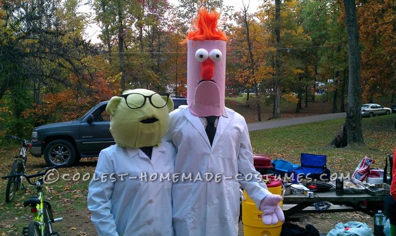 Bunsen and Beaker go camping