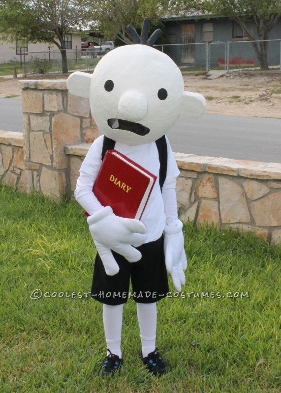 Coolest Homemade Costume Idea: Diary of a Wimpy Kid Costume