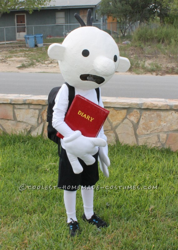 Coolest Homemade Costume Idea: Diary of a Wimpy Kid Costume - 1