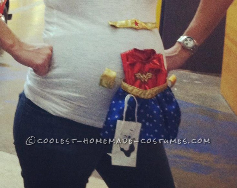 My Original Baby Bump Costume Idea - 1