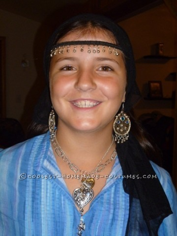 I am 11 years old and the reason I chose to be a Gypsy for Halloween was because I love all of the jewelry that they wear and when my grandma was ove