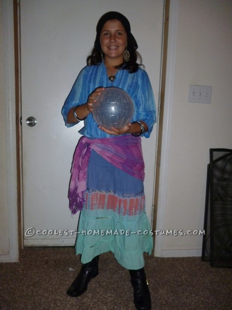 Coolest Homemade Last-Minute Gypsy Costume - 2