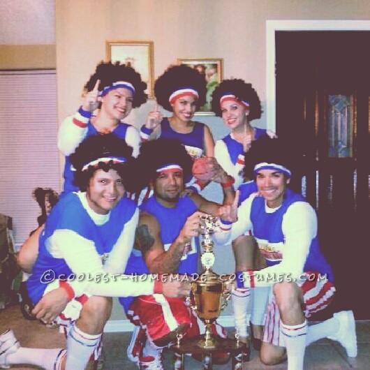 Coolest Harlem Globetrotters Homemade Group Costume