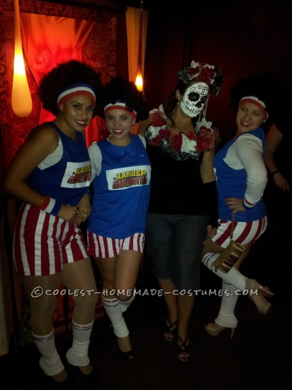 Coolest Harlem Globetrotters Homemade Group Costume - 1