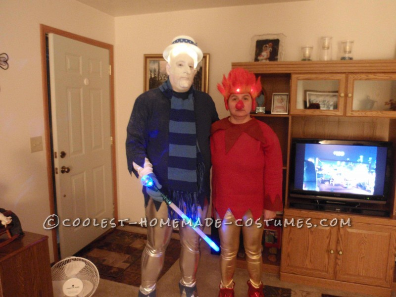 Coolest Heat Miser and Snow Miser Couple Halloween Costume - 4