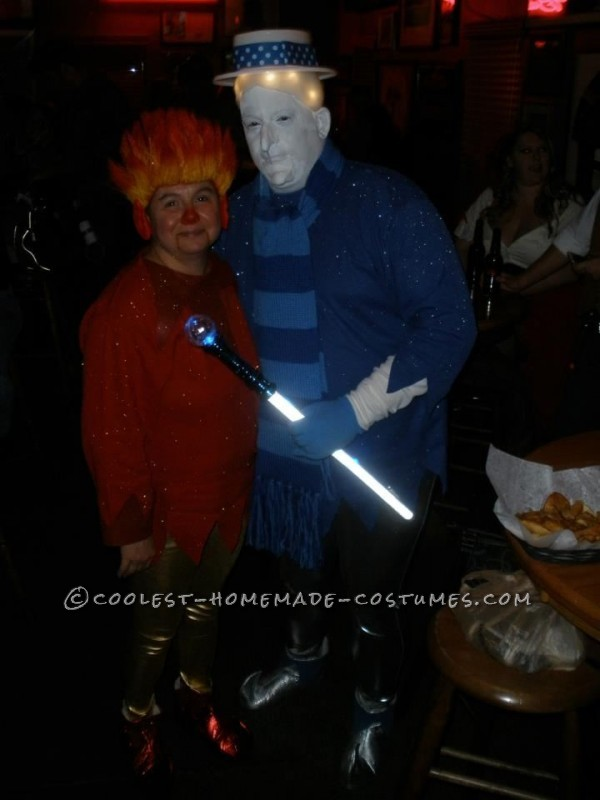 Coolest Heat Miser and Snow Miser Couple Halloween Costume - 1