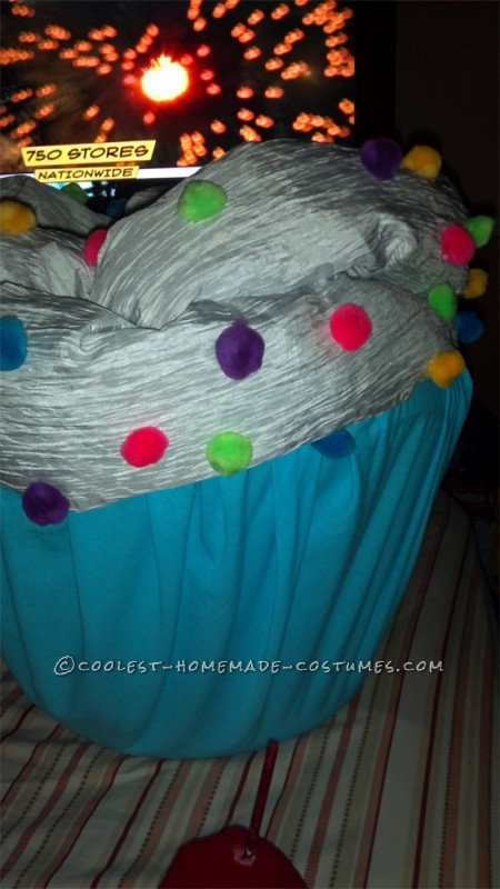 Coolest Homemade Baby Cupcake Costume - 2