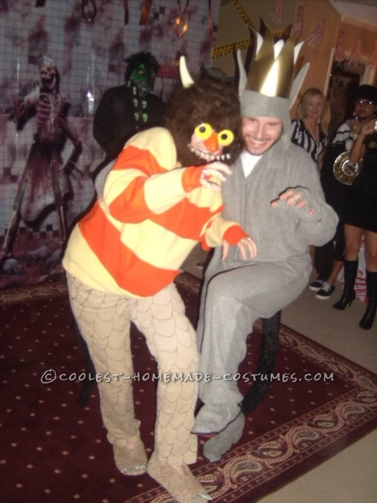 Coolest Homemade Carol from Where the Wild Things Are Halloween Costume