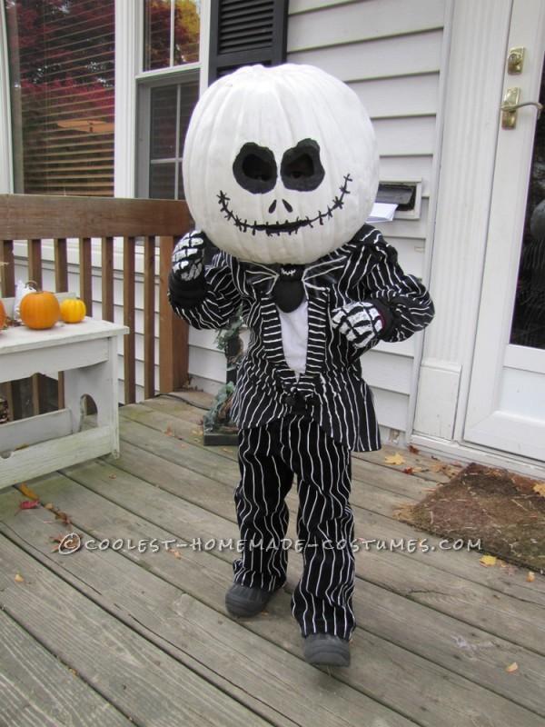 Coolest Homemade Jack the Pumpkin King Halloween Costume - 1