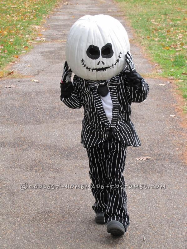 Coolest Homemade Jack the Pumpkin King Halloween Costume - 2