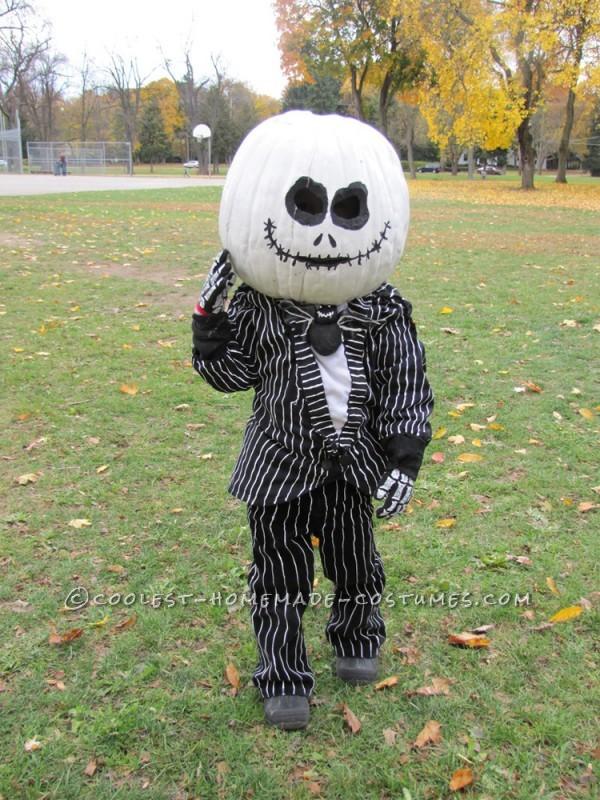 Coolest Homemade Jack the Pumpkin King Halloween Costume - 3