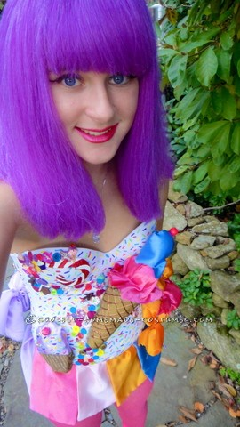 Coolest Homemade Katy Perry California Gurls Costume