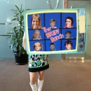 Each year my company has a Halloween Costume Contest. The best part of the costume is my name is actually Marcia and as many times as people say \'