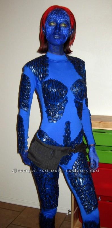 Coolest Homemade Mystique Halloween Costume