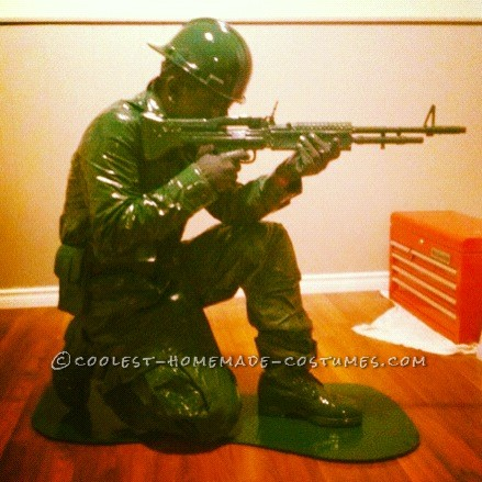 coolest homemade plastic toy soldier halloween costume
