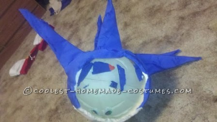 Coolest Homemade Sonic The Hedgehog Halloween Costume - 4