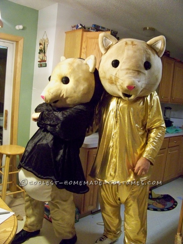 Coolest Kia Soul Hamsters Couple Halloween Costumes